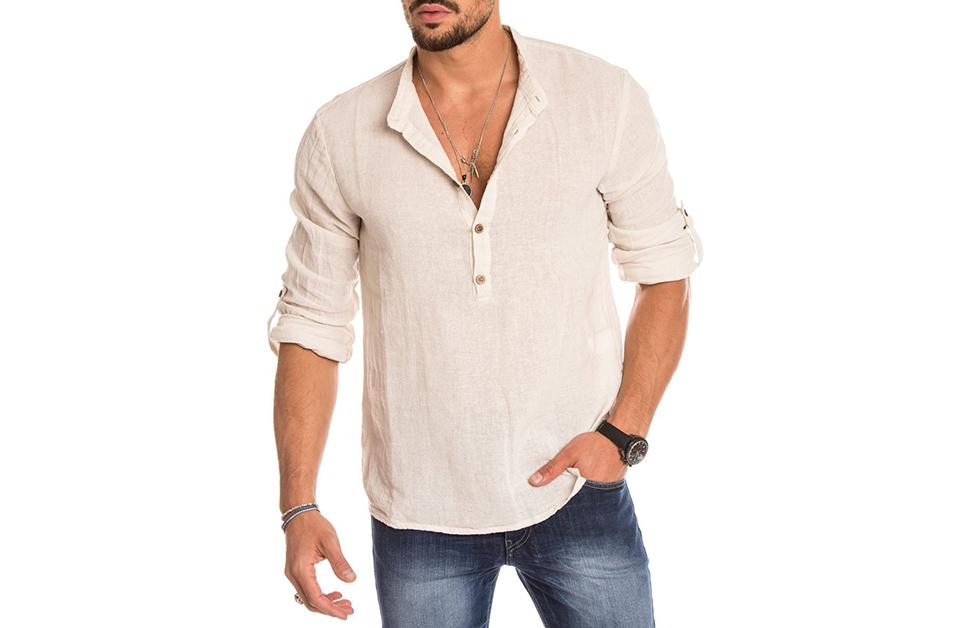 Camicia COlletto Coreana su misura